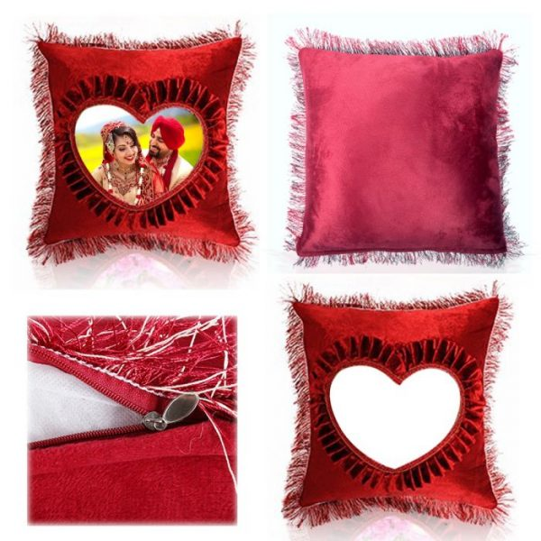 Red Shape Pillow