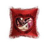 Red Shape Pillow